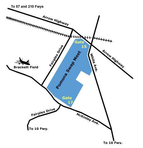 slauson swap meet directions map